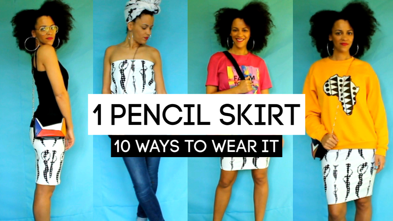 10 Ways To Style a Pencil Skirt | Pencil Skirt Lookbook