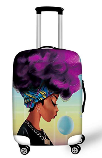 14 Smart Travel Hacks: Colorful Luggage Covers