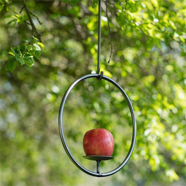 Farringdon Metal Bird Apple Feeder