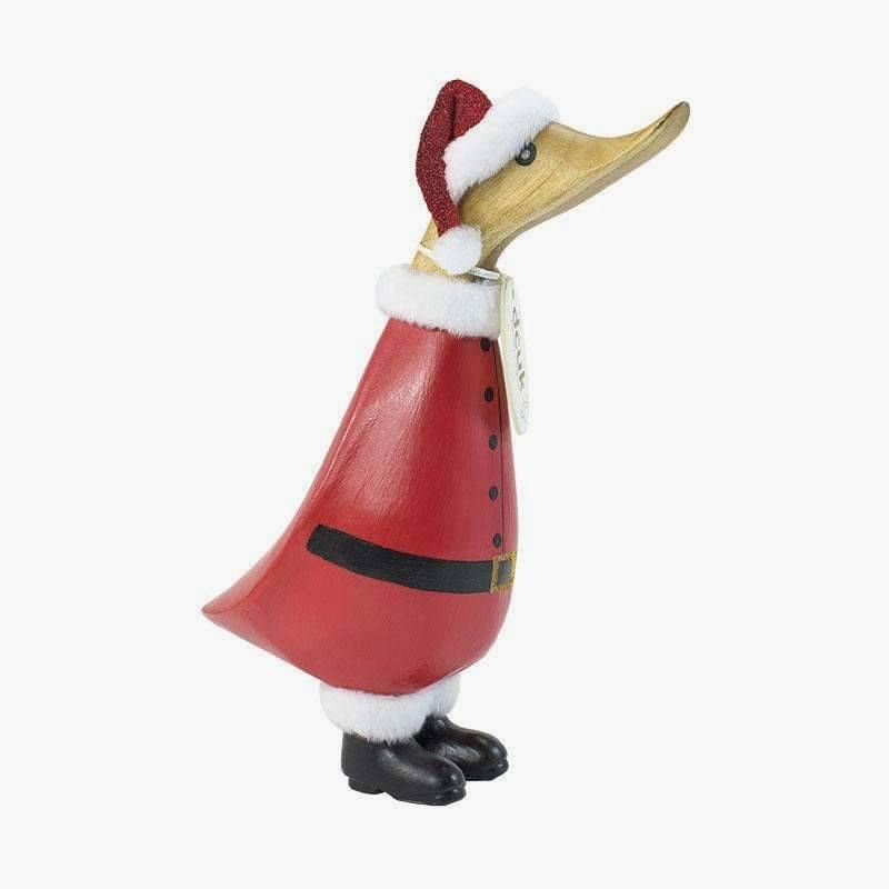 Christmas Santa Duckling