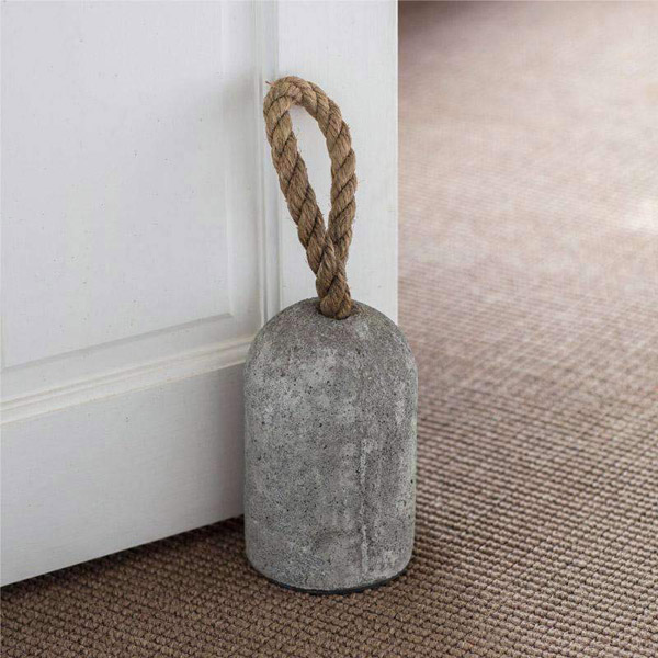 Industrial Cement and Rope Doorstop