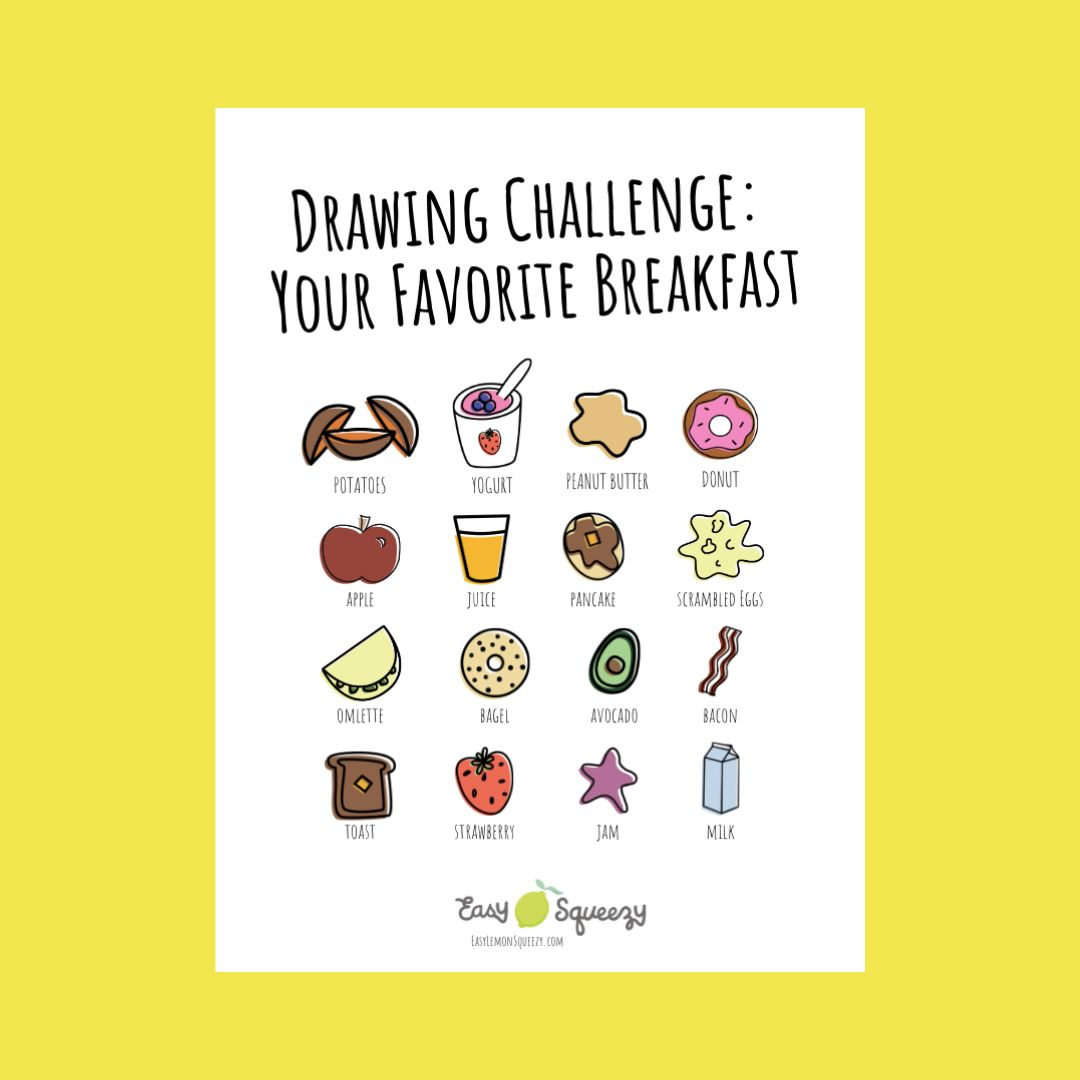 Snag Your Drawing Challenge Freebie