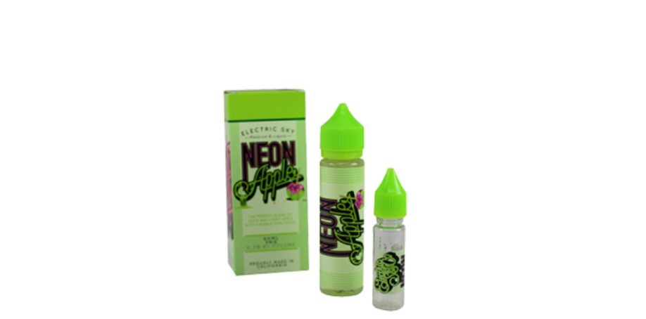 Neon Apple E Juice by Electric Sky Co 60ML