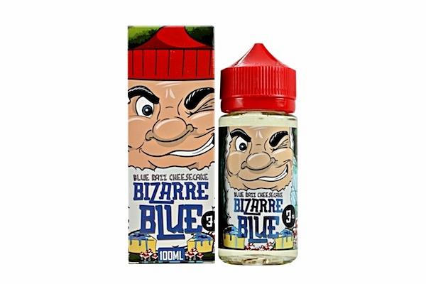 BLUE RAZZ CHEESECAKE BY BIZARRE BLUE 100ML