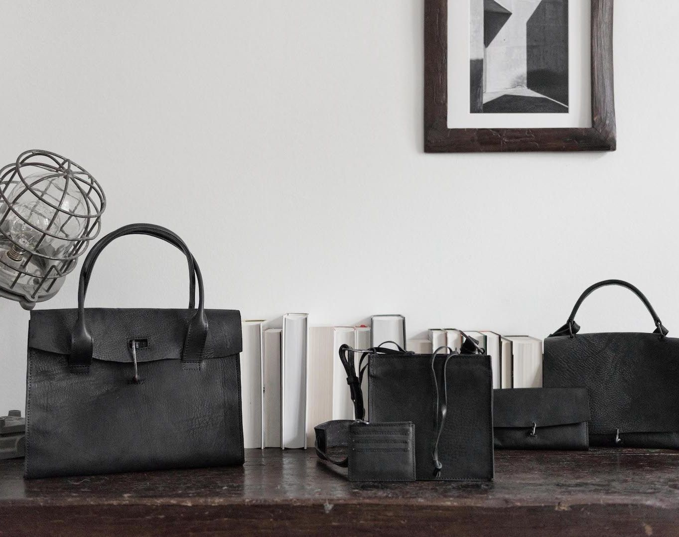 Tagliovio - Leather Bag, Leather Wallet, Leather Belt in black | eigensinnig wien