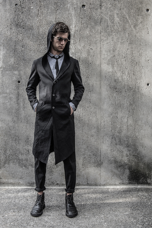 Spezielle Herren-Mode in schwarz - Chaostheorie | eigensinnig wien