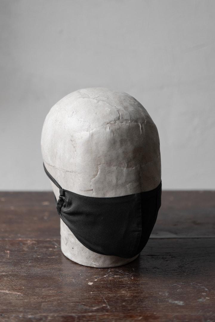 Die Maske Wilson - Mund-Nasen-Maske schwarz Baumwolle