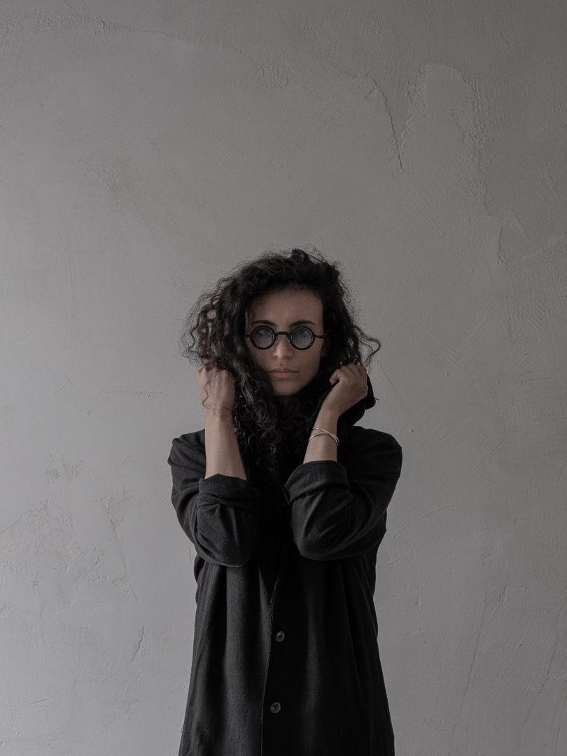 Rigards x Ziggy Chen Sonnenbrille - Avantgarde Mode in schwarz | eigensinnig wien