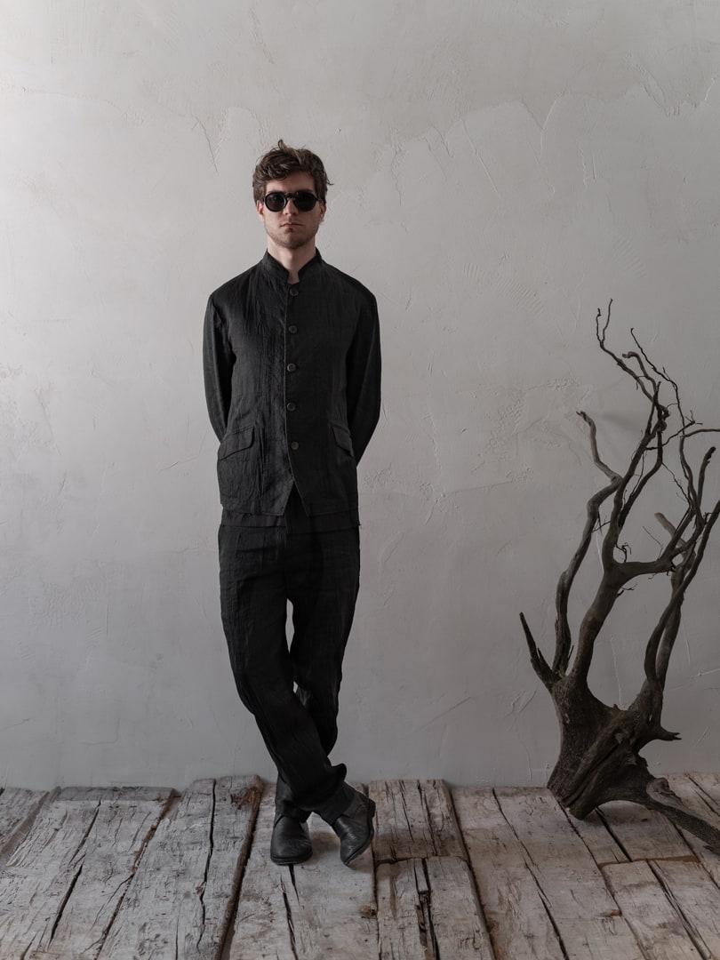 Avantgarde Mode für Herren in schwarz - Herren Anzug von Forme D'Expression | eigensinnig wien