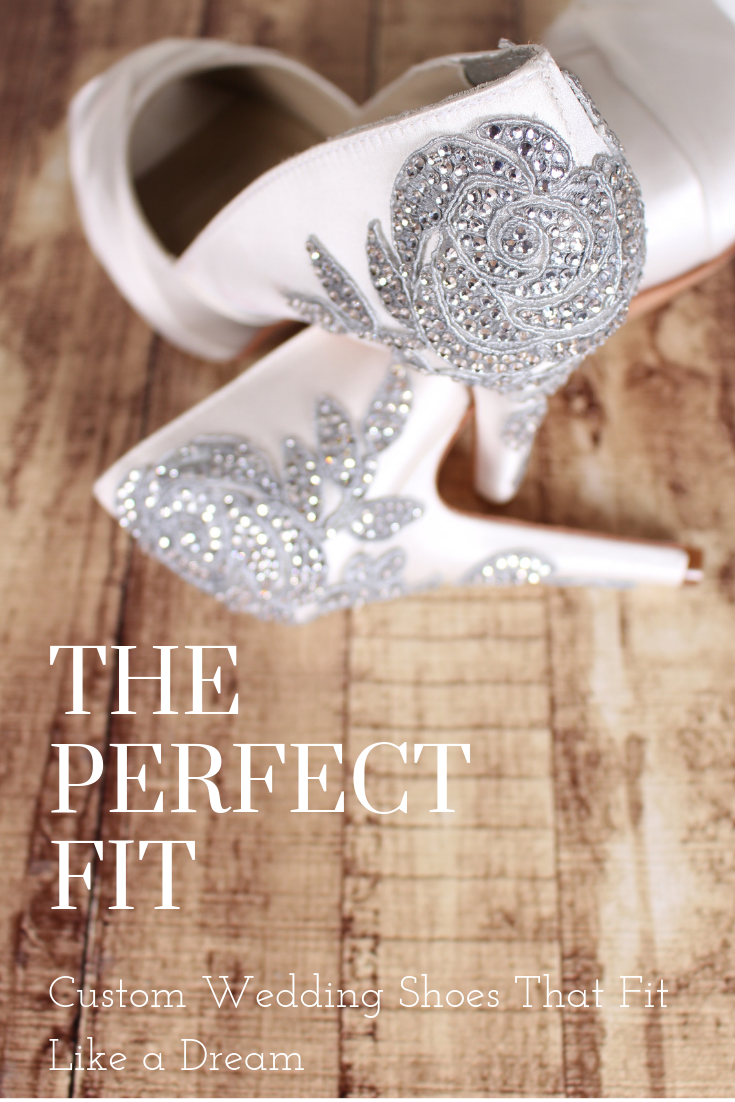 Comfortable Custom Wedding Shoes The Perfect Fit by Ellie Wren
