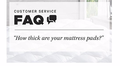what is your thickest mattress topper