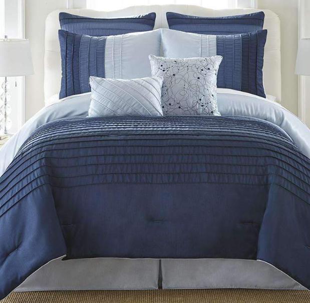 Ocean Drive 8 Piece Comforter Set - Bed in a Ba