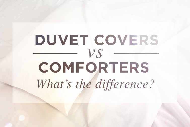 Duvet Covers Vs Comforters Whats The Difference Eluxury