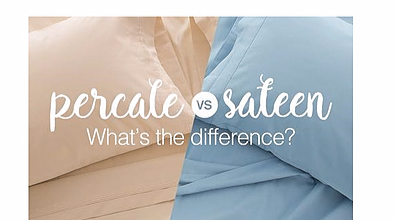 Percale vs. Sateen