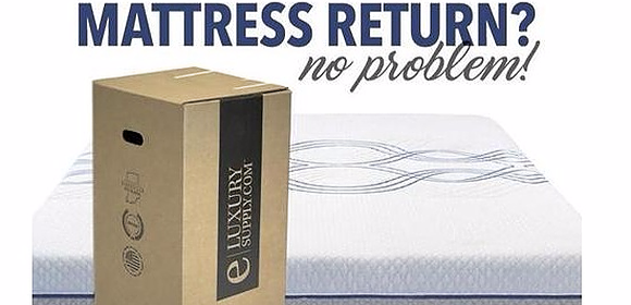 Buying a Mattress Online and Need to Return