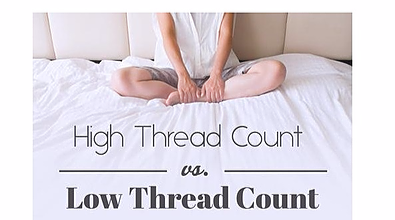 difference between high thread count vs. low thread count