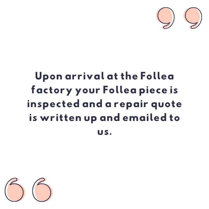 Follea repair