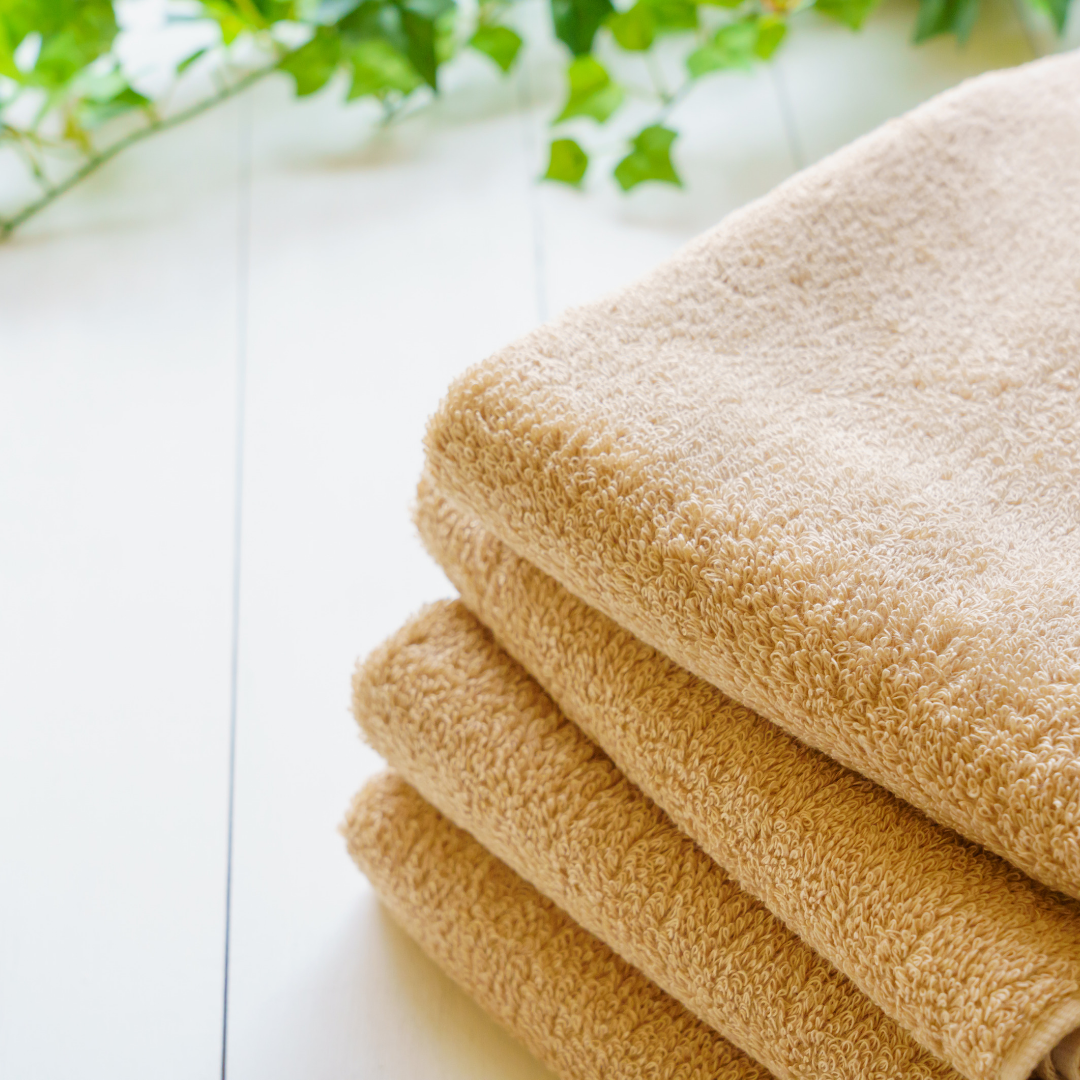 wrap your human hair wig in a clean towel