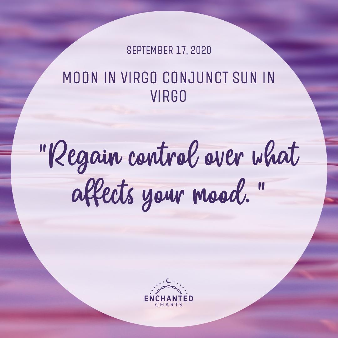 Moon in Virgo Conjunct Sun in Virgo