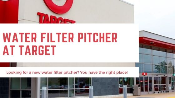 Water Filter Pitcher Target