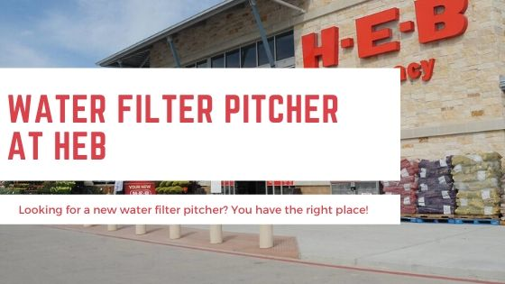 Water Filter Pitcher HEB