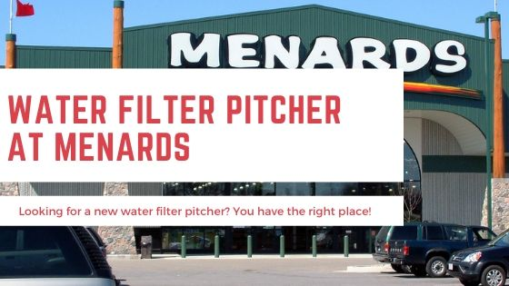 Water Filter Pitcher Menards