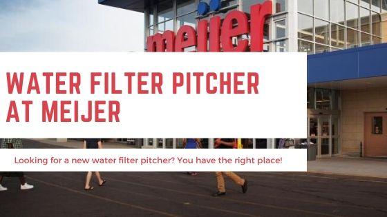 Water Filter Pitcher Kroger