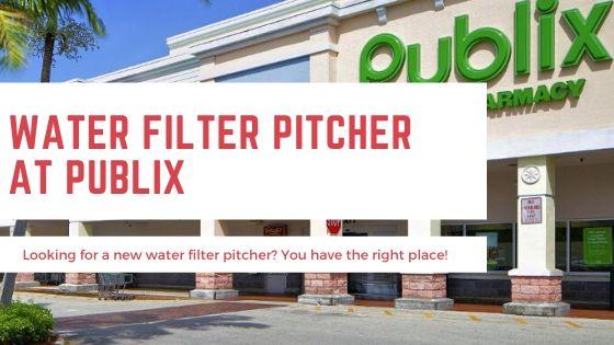 Water Filter Pitcher Publix