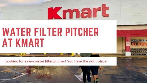 Water Filter Pitcher Kmart