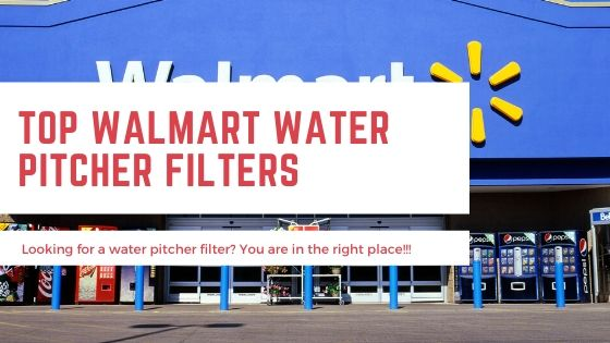 Water Filter Pitcher Walmart