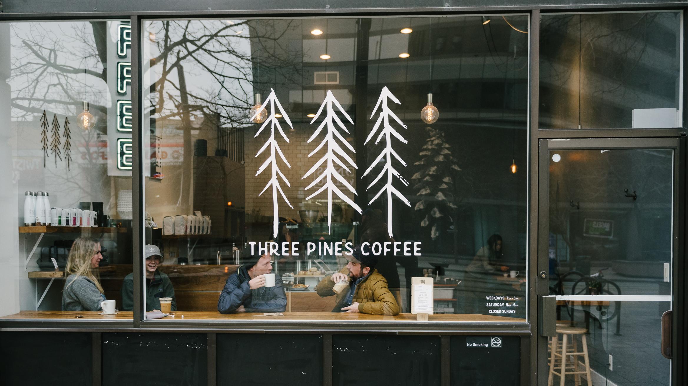Three Pines Coffee Downtown Salt Lake City, Utah