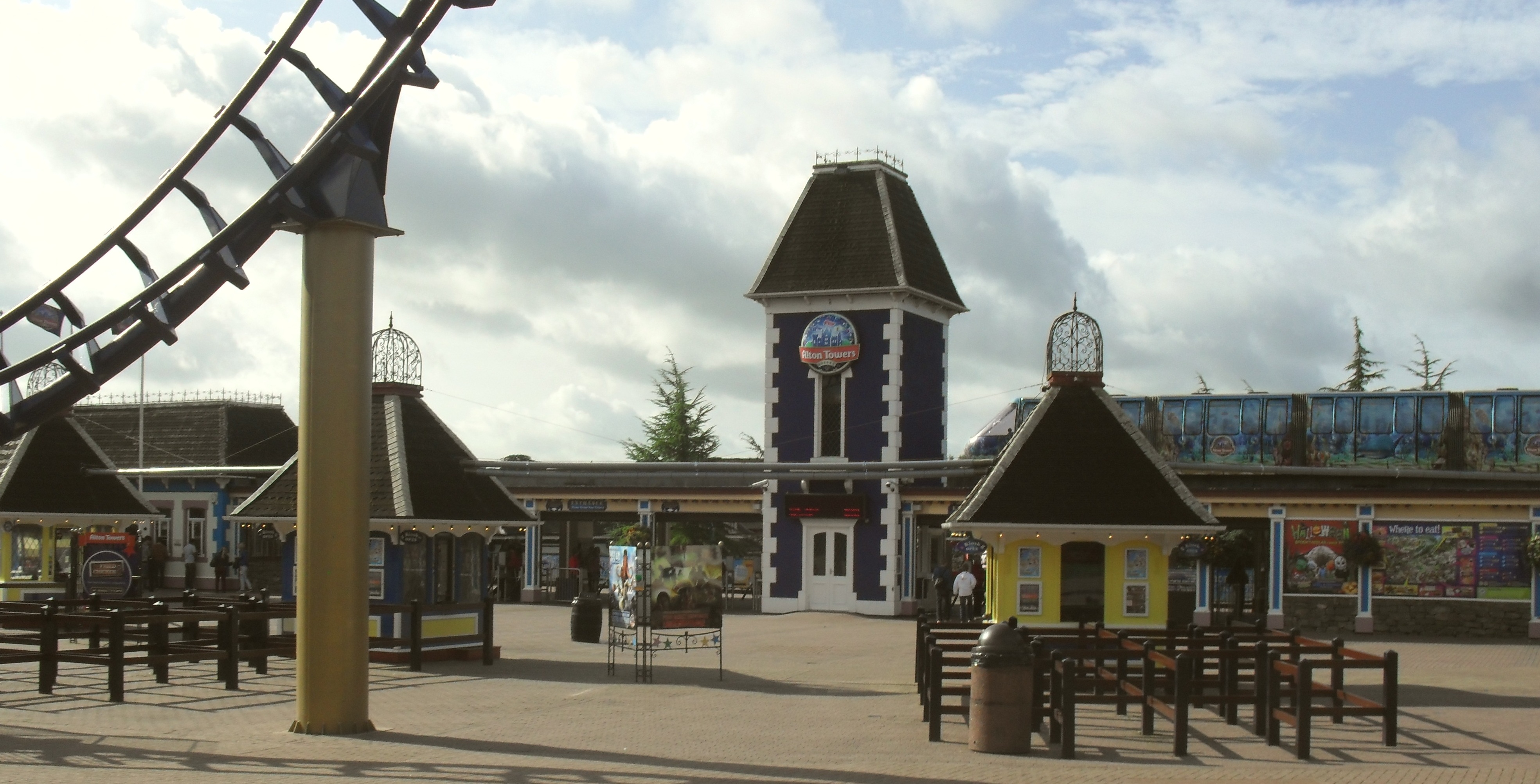 Nottingham theme park