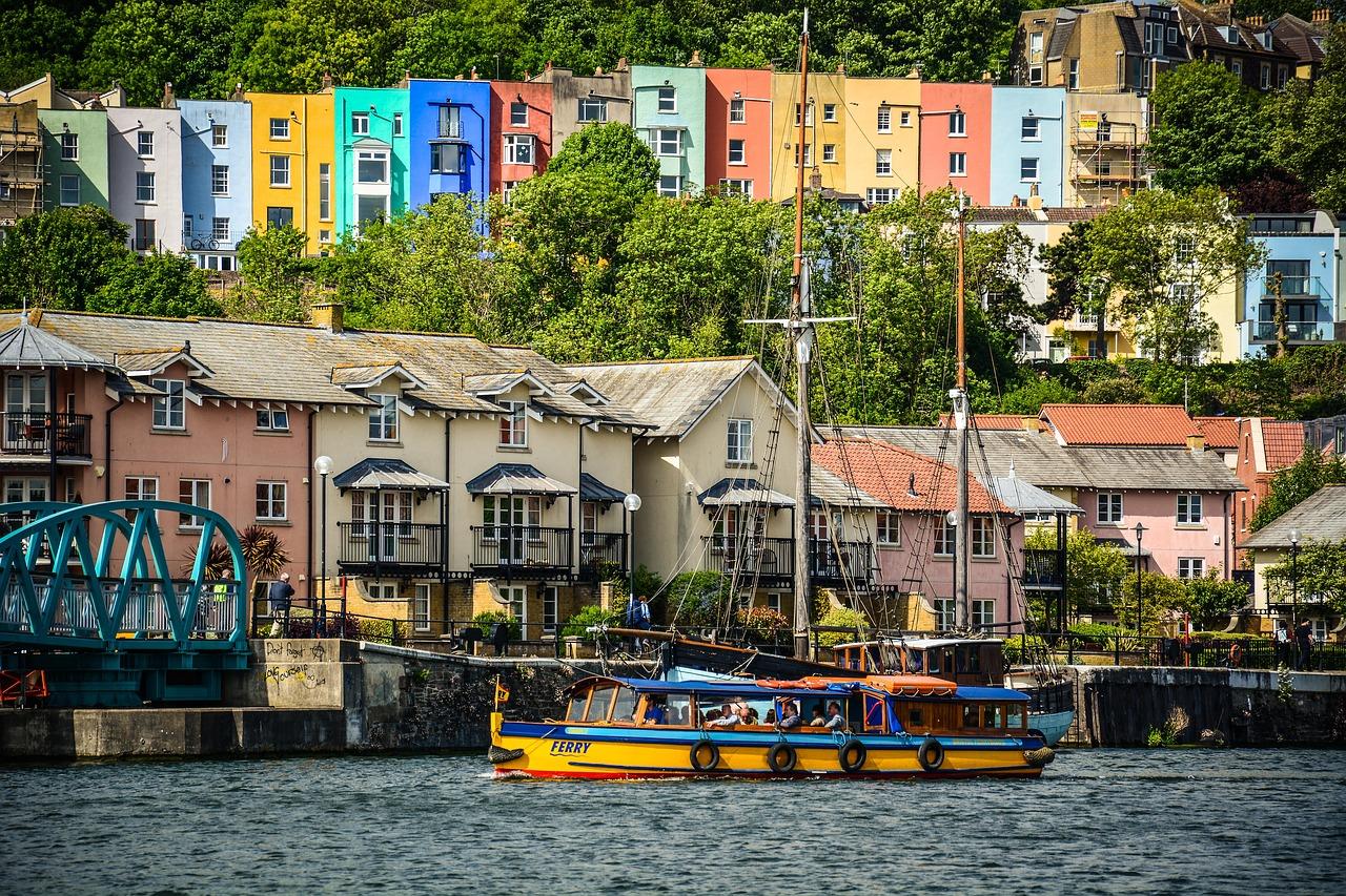 Boat in Bristol