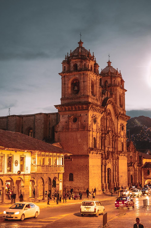 Things to do in Cusco, Iglesia Compañía de Jesús