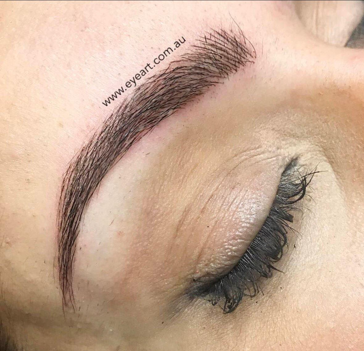 Eyebrow Microblading Tattoo Microbladed Eyebrows Melbourne