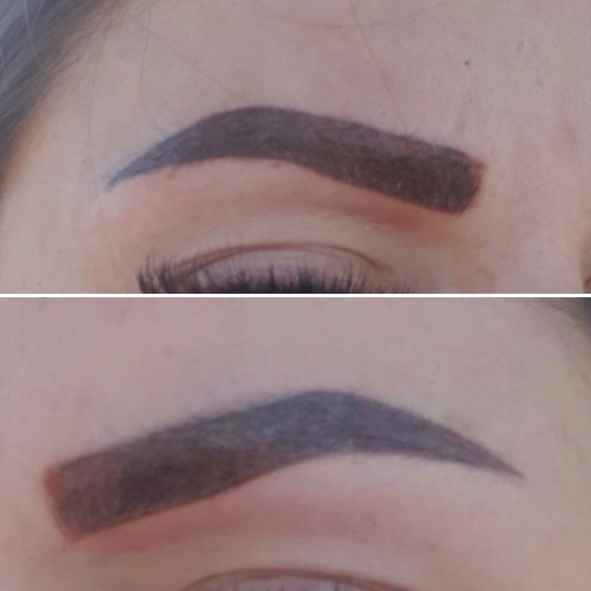 Bad Eyebrow Tattoo