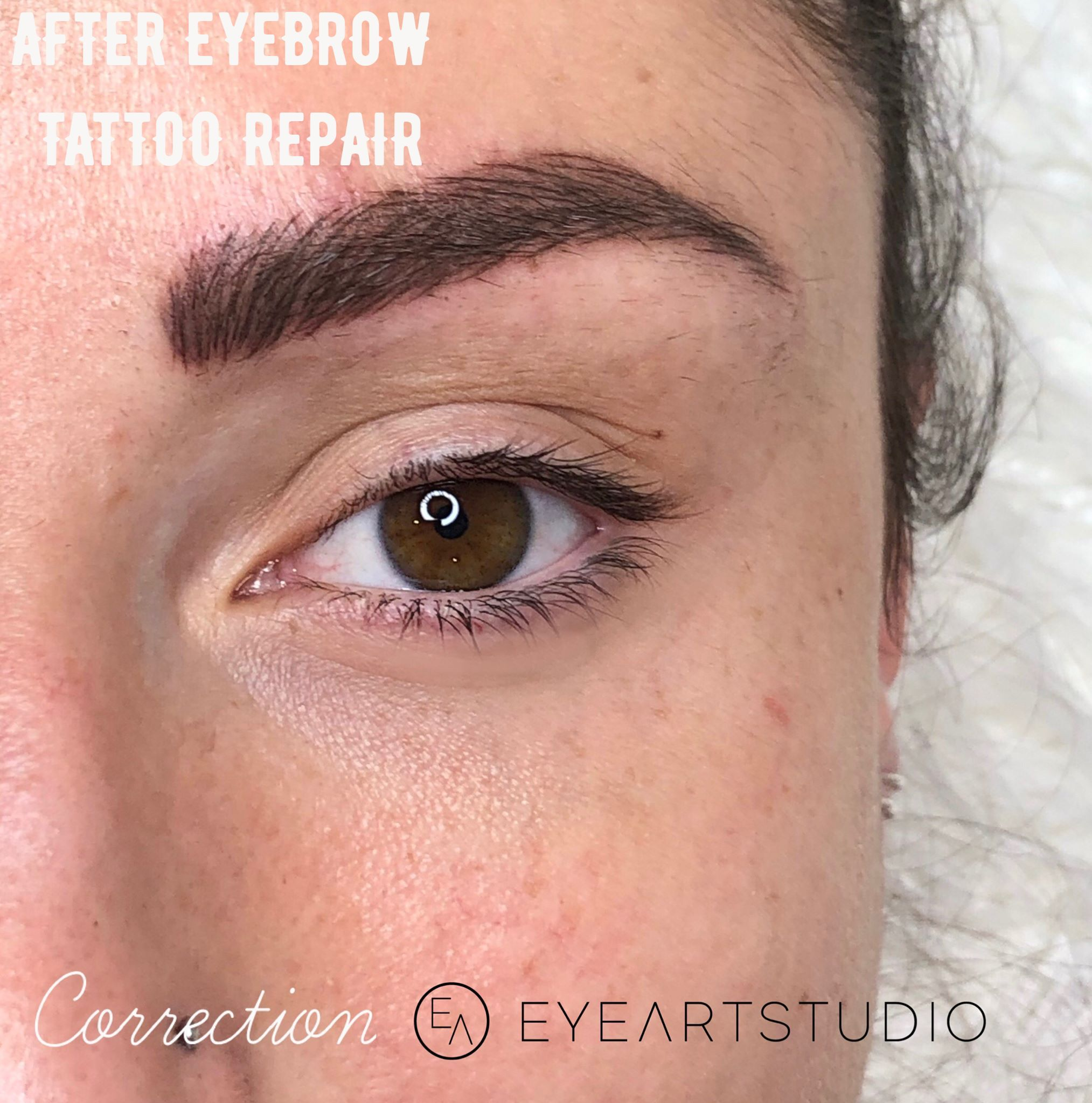 Repair Microblading, Microblading Correction, Eyebrow Tattoo Correction, Brow Tattoo Microblading Repair