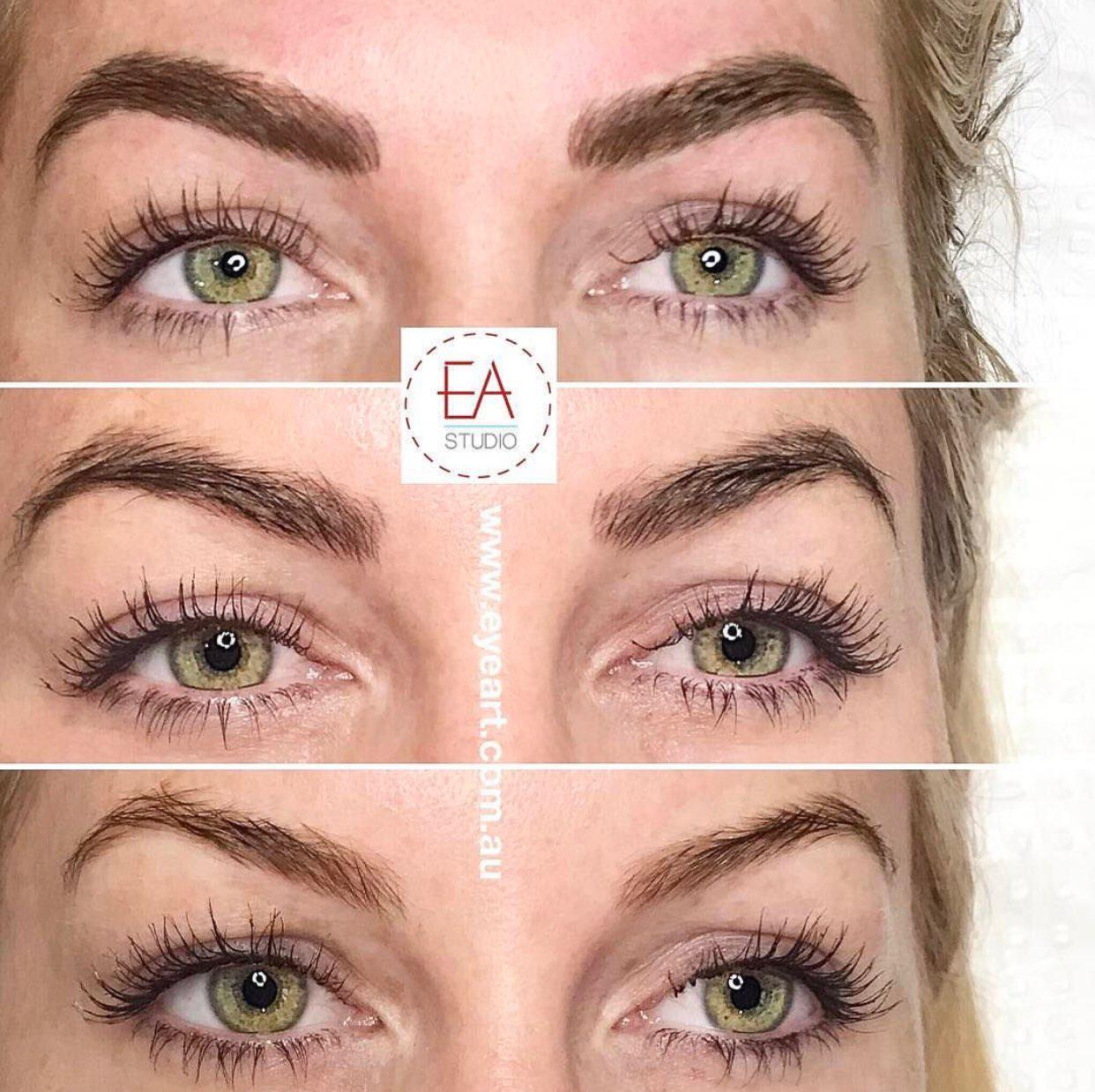 Eyebrow Tattoo Before and After Photos - Eyebrow Feathering Melbourne
