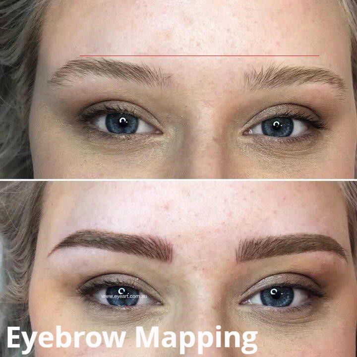Eyebrow Mapping - Eyebrow Tattooing in Melbourne - The Best Places to Go