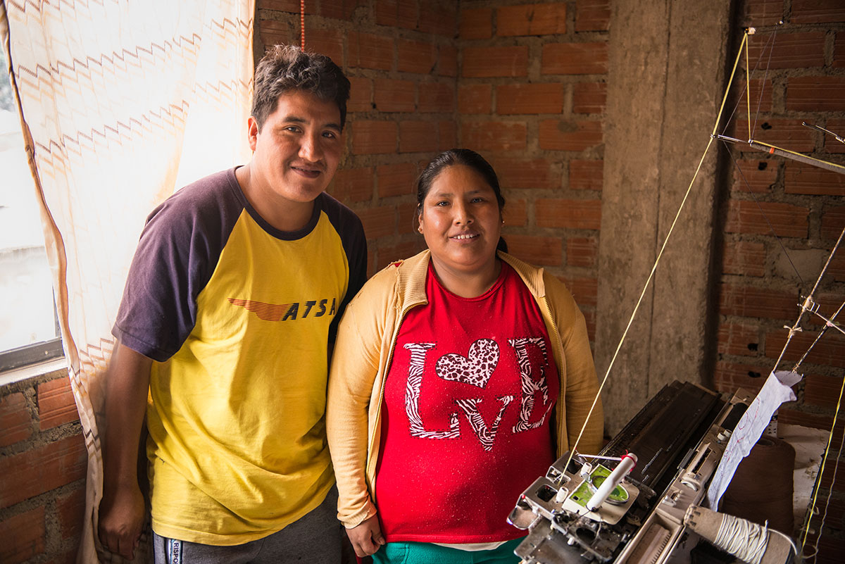 Irma and Gabriel, husband and wife duo making the Organic Joobles baby collection