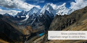 Andes region of Peru