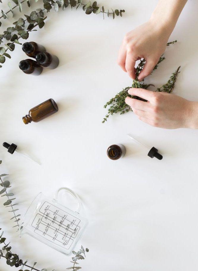 Making an herbal tincture