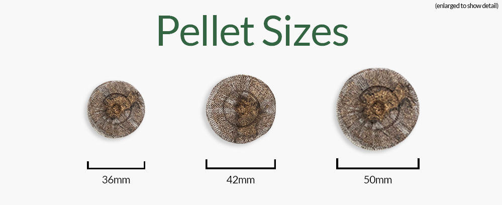 Different Sizes of Peat Pellets for Gardening with Jiffy Seed Starting Supplies