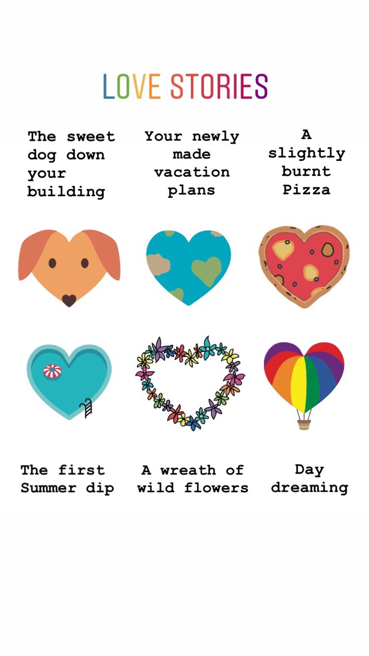 Love Stories Fizzy Goblet
