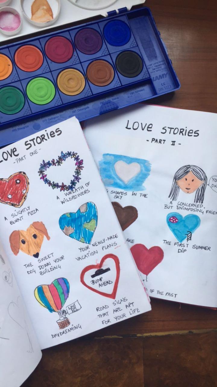 Love Stories Fizzy Goblet Sliders
