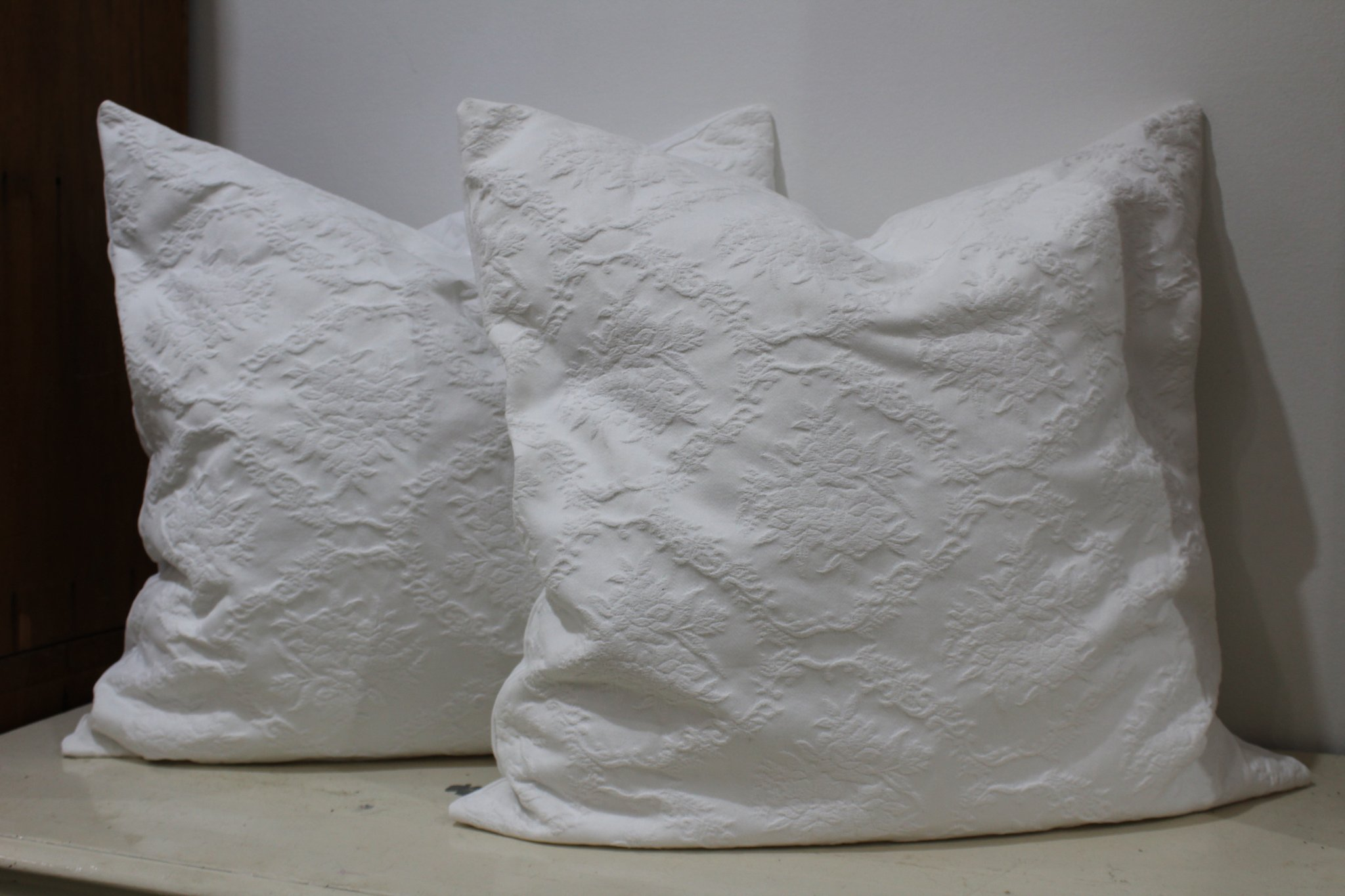 Handmade Cushions from Antique Linen