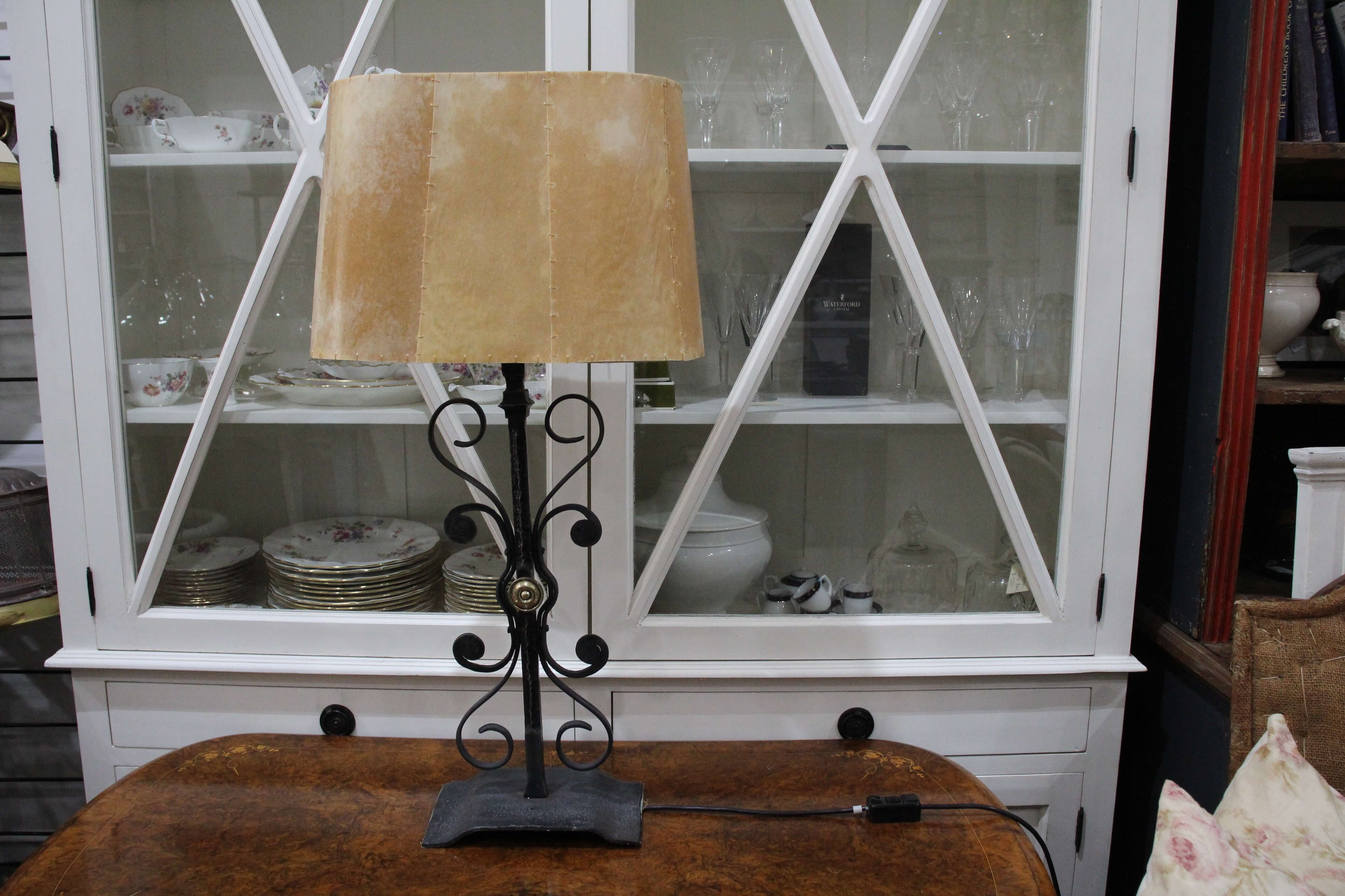 Parchment Shade Lamp