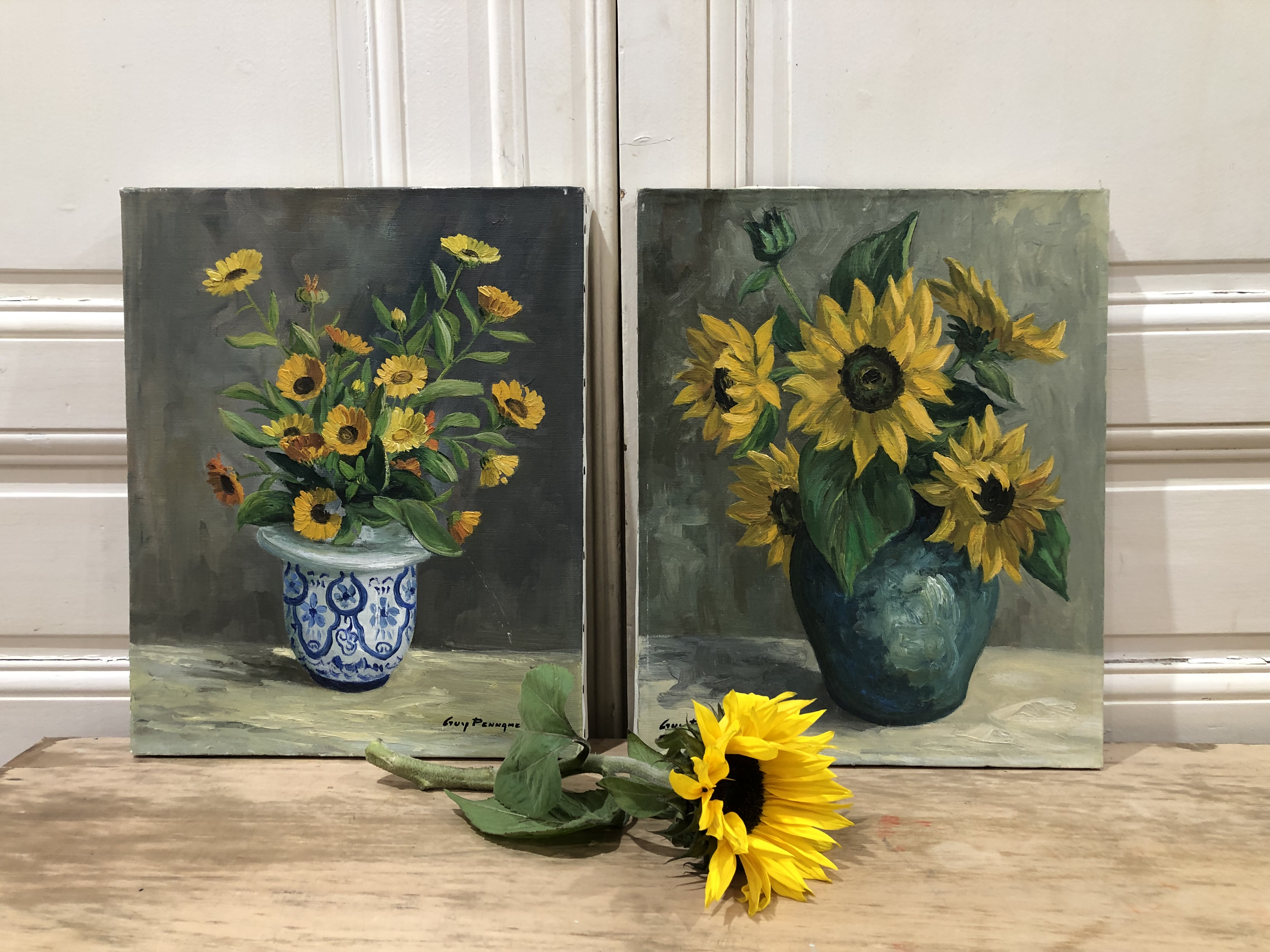 1960's Floral Paintings