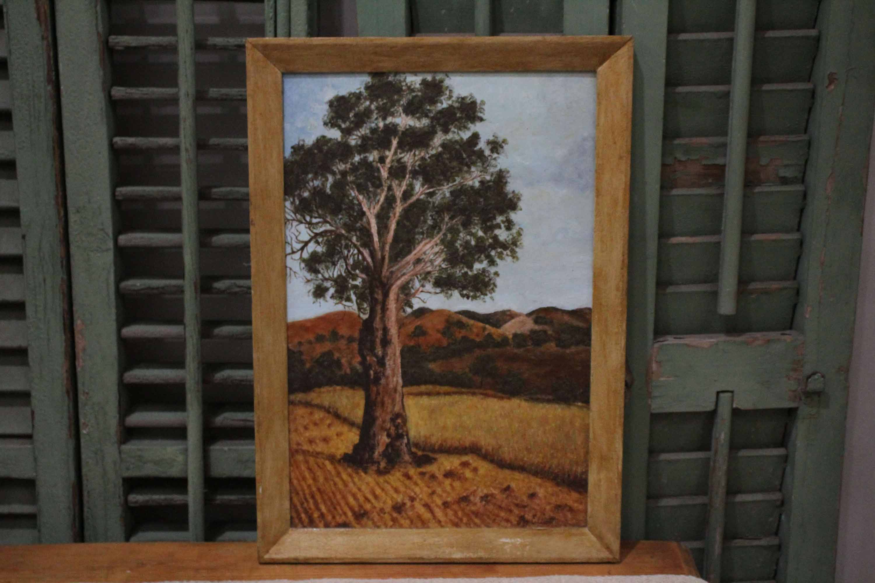 Australian Lanscape Oil