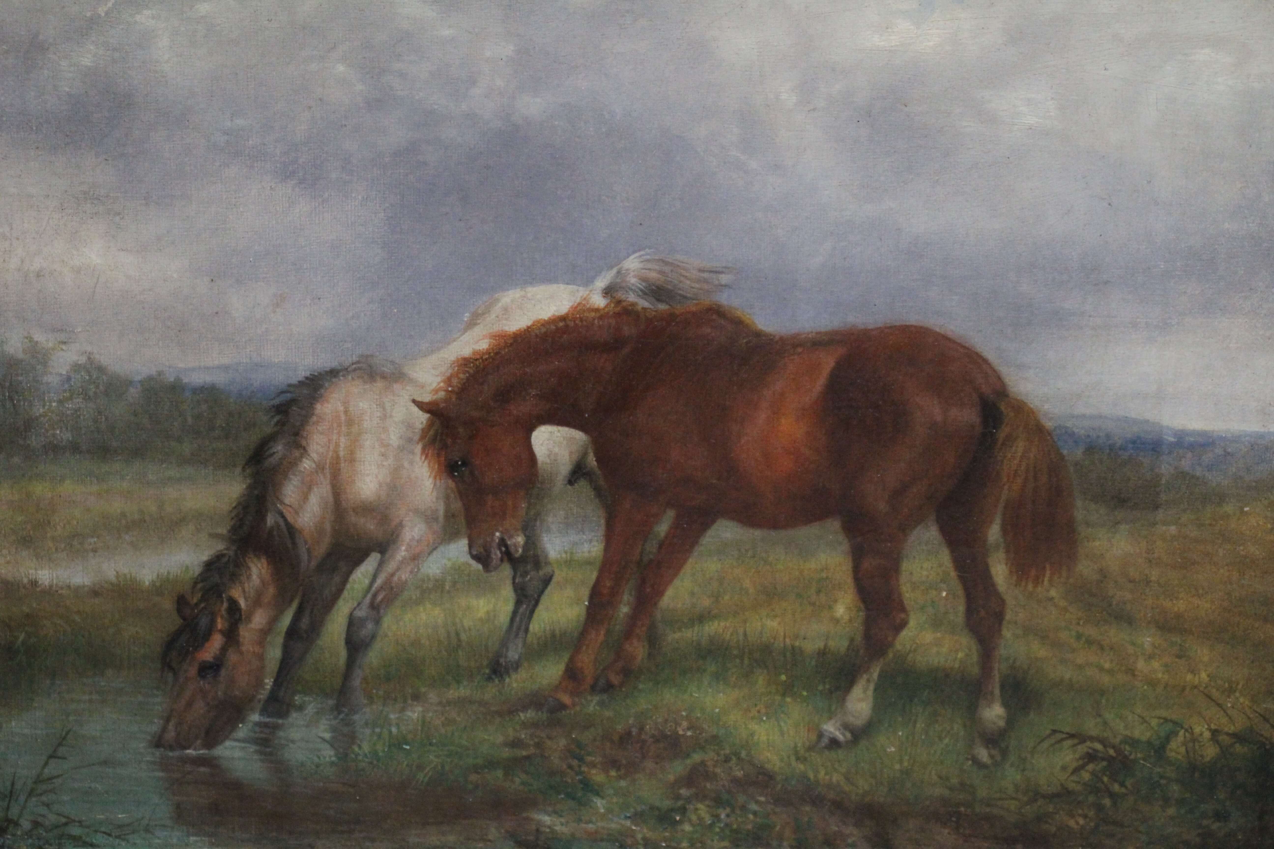 Horse Antique Oil
